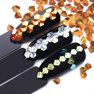 6Boxes-Nail-Glitter-Sequins-Holo-Chameleon-Laser-Flakes-3D-Decoration