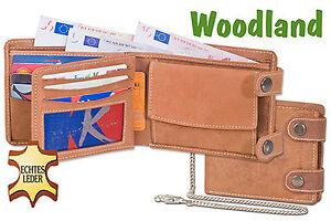 Woodland-Chaine-Boursiere-Collier-et-Verrouillage-Exterieur-en-Buffle-Cuir