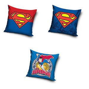 Superman-Kissenbezug-Kissenhuelle-Pillowcase-40-x-40-cm