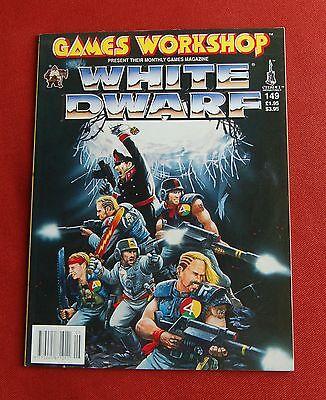 Bello White Dwarf Magazine 149-maggio 1992-space Hulk, Warhammer 40k, Epic Orks-mostra Il Titolo Originale