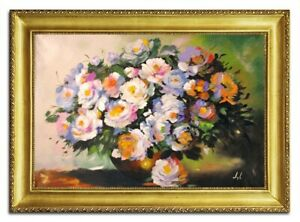 Oil-Painting-Pictures-Hand-Painted-with-Frame-Baroque-Art-G96472