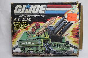 Hasbro Vintage 1987 Gi Joe Slam (machine d'artillerie à longue portée stratégique)