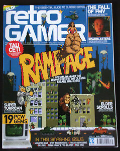 Details about Retro Gamer Magazine, Issue 131, Rampage, Elder Scrolls, WWF,  Mario  FREE P+P