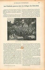 Classe-Day-Universite-Yale-Connecticut-Universite-Princeton-GRAVURE-PRINT-1906