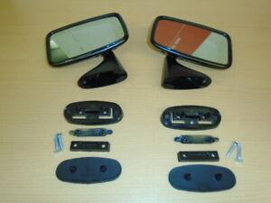 Triumph TR6 TR7 MINI etc **RH+LH DOOR MIRRORS **Complete  - TEX as original