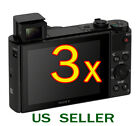 3x Clear LCD Screen Protector Guard Film For Sony CyberShot DSC-HX90V Camera