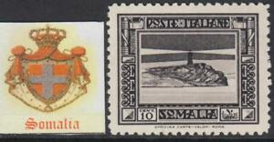 Italy-Somalia-Sassone-n-169-cv-480-SUPER-CENTERED-Pittorica-perf-12-MNH