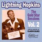 Gold Star Sessions, Vol. 2 by Lightnin' Hopkins (CD, Jun-1991, Arhoolie)