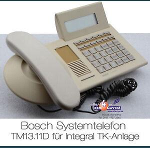 ISDN-TELEFON-SYSTEMTELEFON-BOSCH-TM13-11D-TM13-11-TENOVIS-FUR-INTEGRAL-33-55