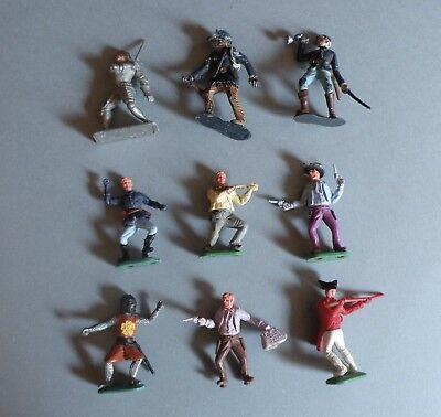 Disciplinato Britain Timpo - Crescent Toys 9 Soldatini Anni '60
