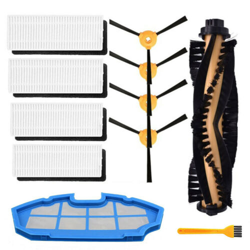 Roller Side Brush Filter Set For Eufy Robovac 11//11c Vacuum Cleaner Replacement