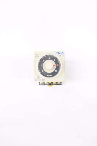 Omron H3CR-H8L 0-12 Min Relay 24v-dc 5a Timer