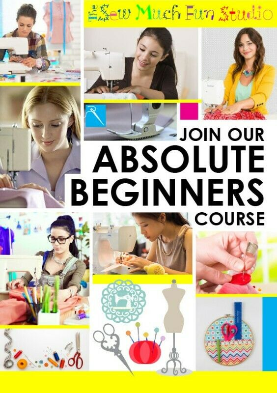 Looking for a great way to up-skill in 2021? Sign up for a beginners sewing course now