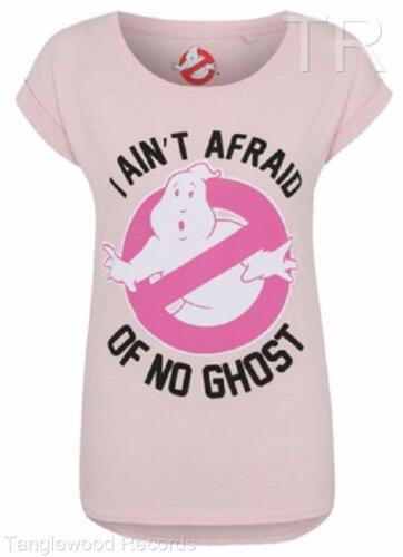 I Ain/'T Afraid Of No Ghost Damen T-Shirts Pink Ghostbuster