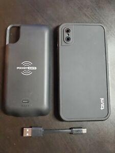 meet b7184 d6114 Details about Guardian Wireless Waterproof Power 3000 Case for Apple iPhone  X