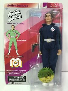 Marty Abrams Mego Action Jackson Classic  8 inch  Figure Doll new in package