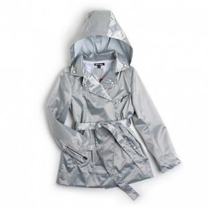 Magnifique-Imper-Trench-Gris-Argente-Lazy-Day-Modele-Nizoo-Ooxoo-Taille-5-ans