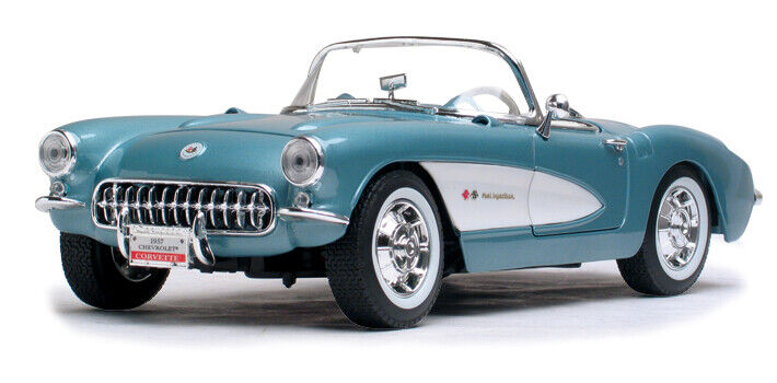 1957 Corvette - blå