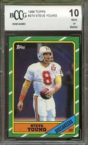 1986-Topps-374-Steve-Young-Rookie-Card-BGS-BCCG-10-Mint