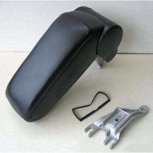 Center Armrest Audi A4 B6 New times Arm Rest Centre Console Black Leather