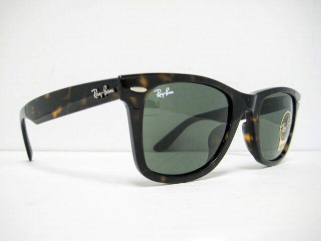 684ea5d74f new Ray Ban Original Wayfarer Sunglasses RB2140F 902 Tortoise/Green 52mm