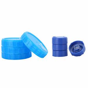 4 Reusable Anti-Splash Non-Spill Water Bottle Cap for 55mm//10cm Screw Top Bottle
