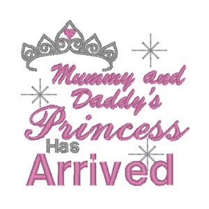 Daddy/'s Princess has Arrived Onesie