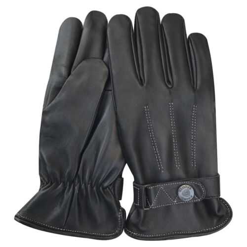 Prime Men/'s Fashion Dress Classic Gloves Vintage Chauffeur Lambskin 9903