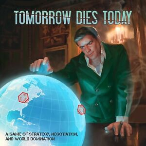 Tomorrow Dies Today - Supervillain Strategy Game