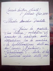 Antiques 1940 Letter Writer For Childhood Lucia Maggia 'hedda' From Johannesburg Cossano Orders Are Welcome.