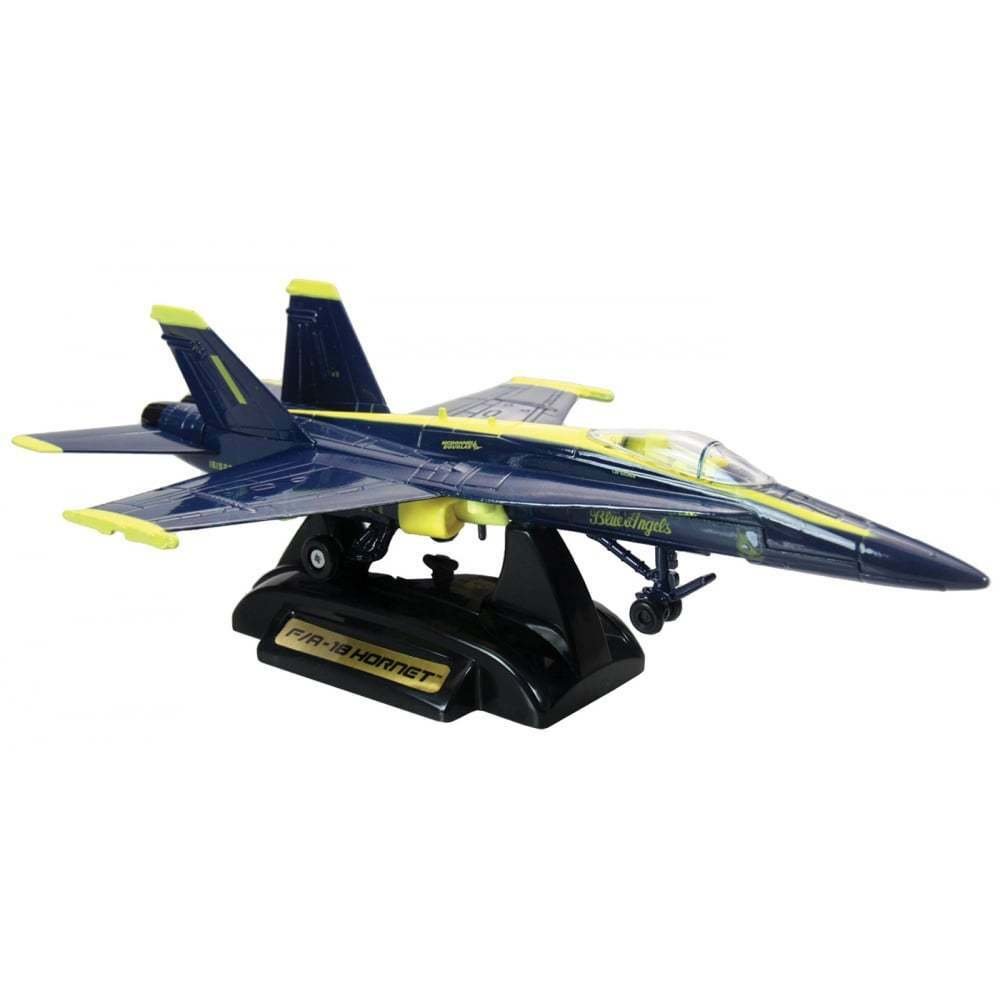Gifts For Aviators bluee Angels F-18 Die Cast Model Aircraft - Scale 1 48