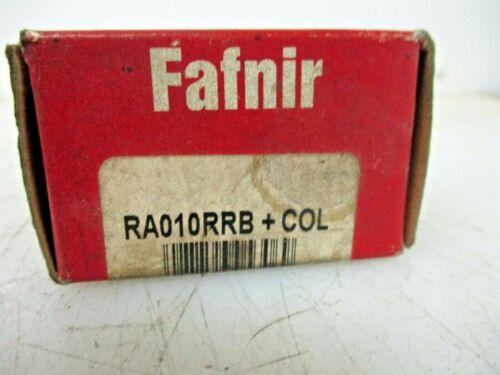 NEW FAFNIR INSERT BEARINGS RA010RRB+COL