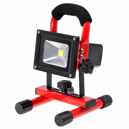 10W 20W 30W Portable Hi Power White LED Work Light Rechargeable Flood Light IP65