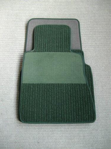 NEU Pinie $$$ Lengenfelder Rips Fußmatten für Mercedes Benz W114 W115 Grün