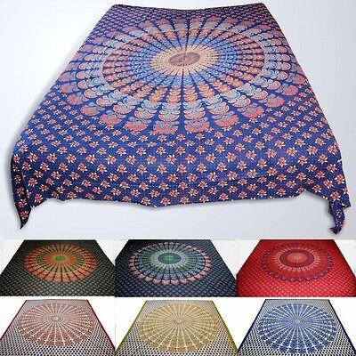 Coperta da giorno da LETO, 100% cotone -mandala india-dekotuch-tuch 210x230 cm