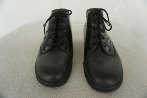 warm FINN COMFORT MYKONOS Schuhe Boots Stiefel Gr.7/ 40,5 Schwarz echt Leder NEU