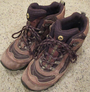 6a8487d333 Image is loading Merrell-Continuum-Vibram-Siren-Waterproof-Brown-Womens- Hiking-