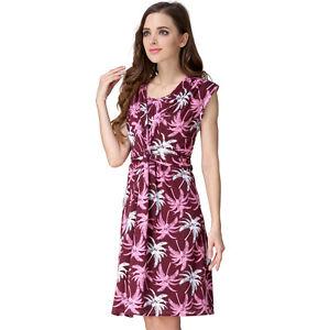 87108211a0c7 Details about Flower Maternity Clothes Breastfeeding Dresses Pregnancy  Nursing Dress M L XL
