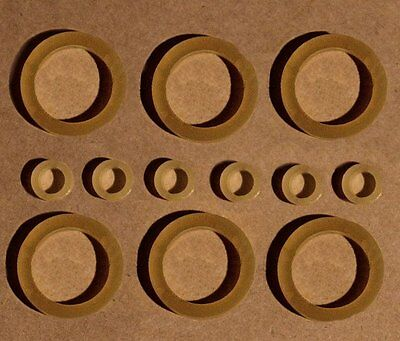 """SET of 12 DOLL REPAIR RUBBER BANDS FOR RESTRINGING  8-12"""" DOLLS"""