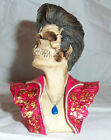 Elvis Character Skulls Figural Bust Day of the Dead NOS 1996 in Original Box