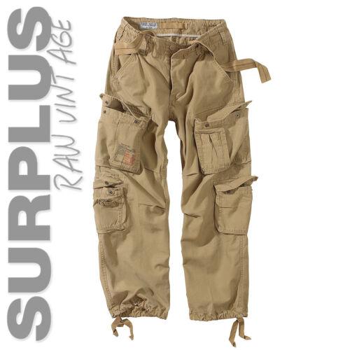 Surplus Cargo pantalon airborne vintage us army pants Outdoor Loisirs coton motard rock