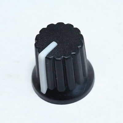 5 x Knob Black with White Mark for Potentiometer Pot