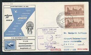 61608-LH-FF-Delhi-Indien-Kairo-Agypten-1-9-63-SoU