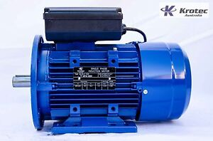 Electric-motor-single-phase-240v-1-5kw-2hp-1410rpm-B35-Flange