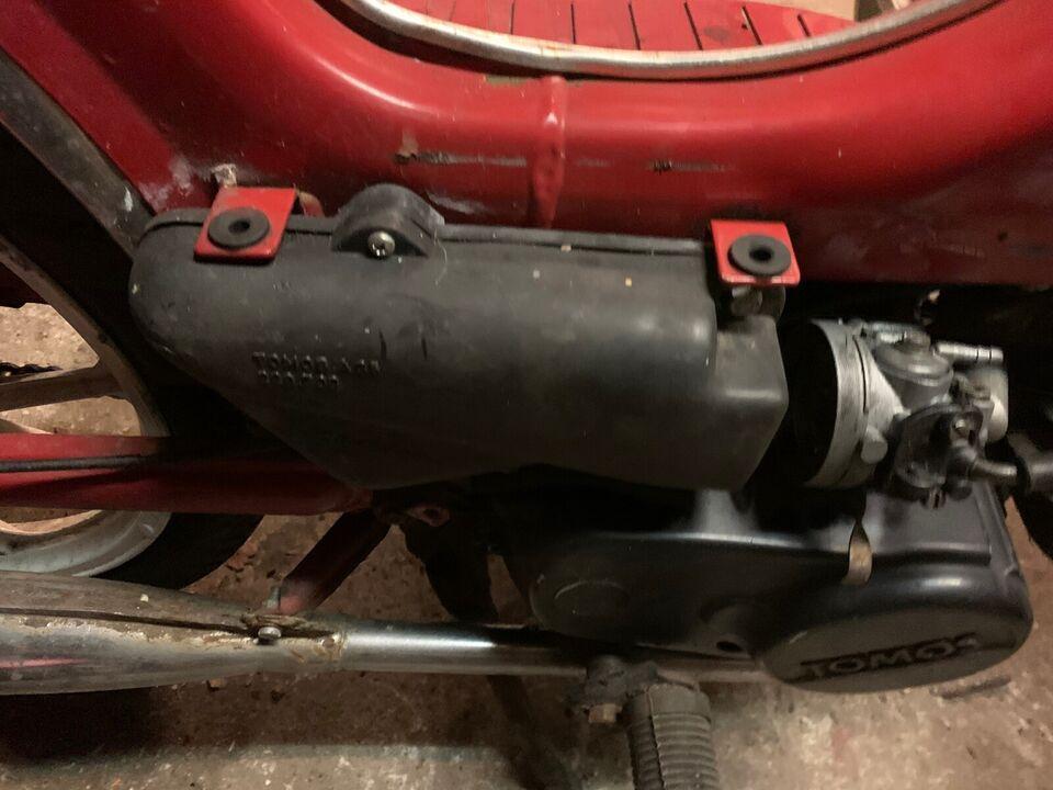Tomos Quadro 2 gear aut med ekstra motor, 1996, Rød