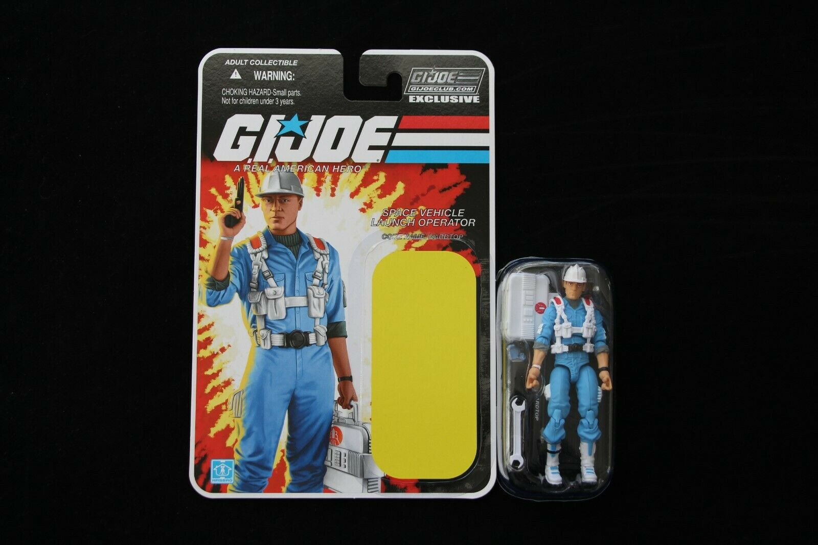 GI Joe 2017 Collector's Club FSS FSS FSS 6.0 Space Operator Hardtop Figure New Complete 46a986