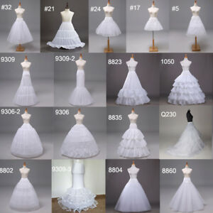 20d85f9a5f Image is loading Women-039-s-Petticoat-Wedding-Slip-Underskirt-Crinoline-
