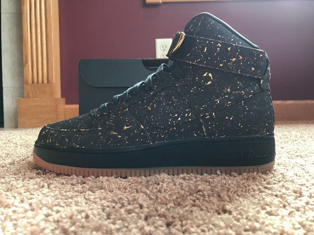 fd14c07596910 Nike Men s Air Force 1 High Premium ID Cork golden State Warriors Size 8