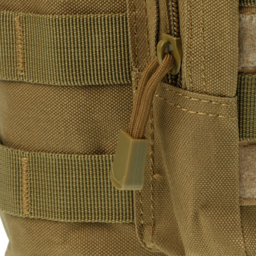 Outdoor Tactical Gear Military Molle Water Bottle Bag Kettle Pouch