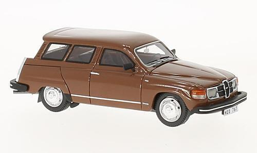 Saab 95 GL  Brown  1979 (Neo Scale 1 43   43767)